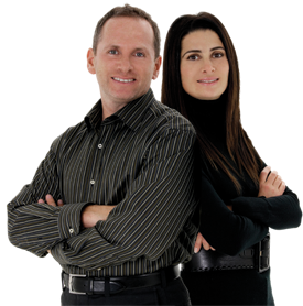 Andrew and Jill Hasman Real Estate team